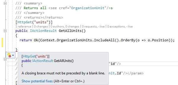 Clean Code - CompilerMessage Styleguide
